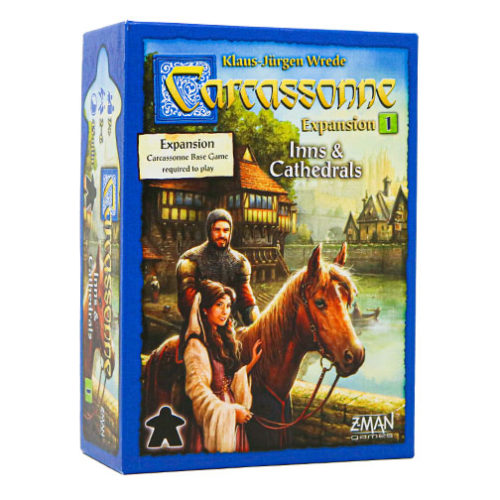 Carcassonne Expansion 1 Inns & Cathedrals
