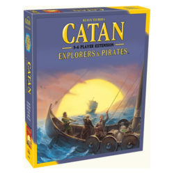 Catan: Explorers & Pirates 5-6 Player Extension (2015 Refresh)