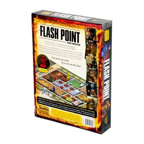 Flash Point Fire Rescue 2nd Edition Backof Box