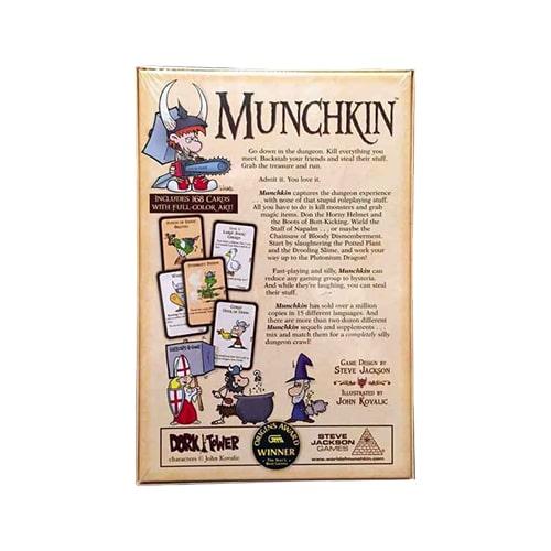 Munchkin Back of Box