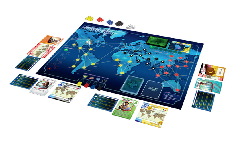 Pandemic Review - Game Components