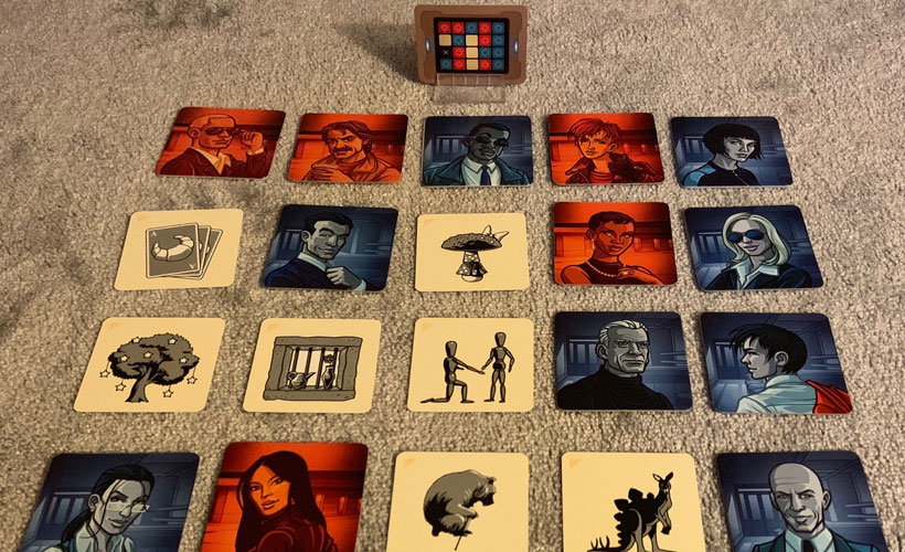 Playing Codenames Pictures - The Grid