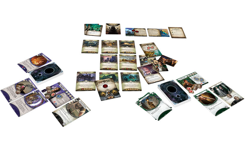 Arkham Horror: The Card Game - Components
