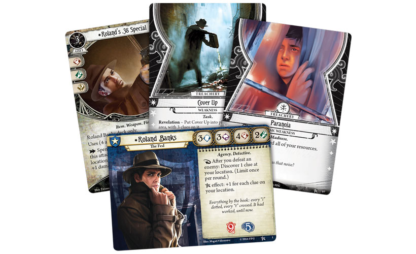 Arkham Horror The Card Game - Investigators