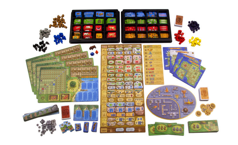 A Feast for Odin - Game Components