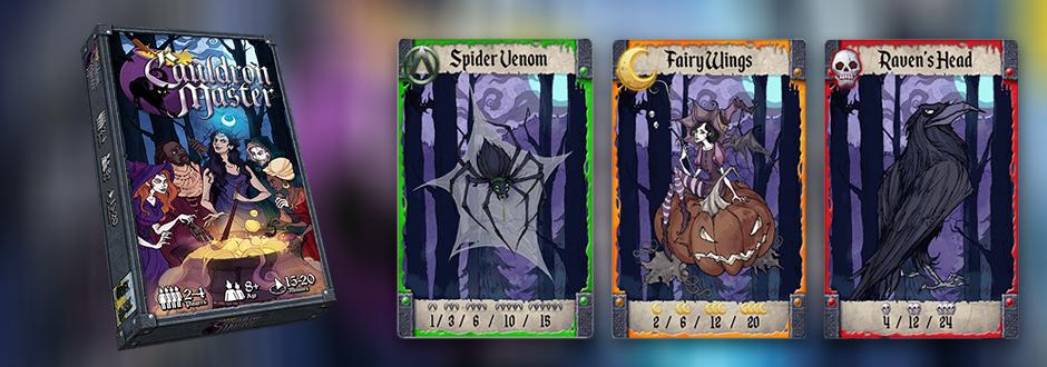 Cauldron Master: New to Kickstarter