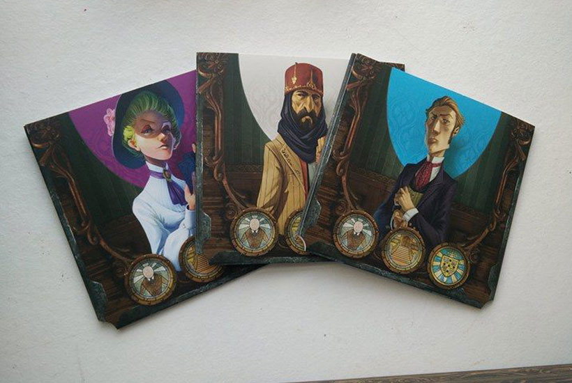 Mysterium Review - Character Tiles