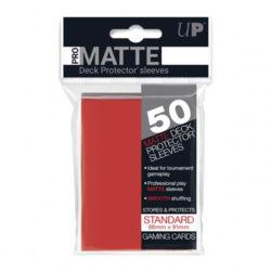 Standard Red Deck Protector Sleeves