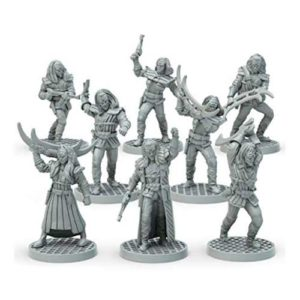 Star Trek Adventures: Klingon Warband 32mm Miniatures