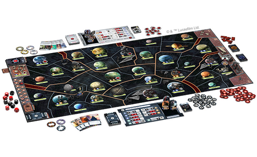 Star Wars Rebellion Review - Game Components