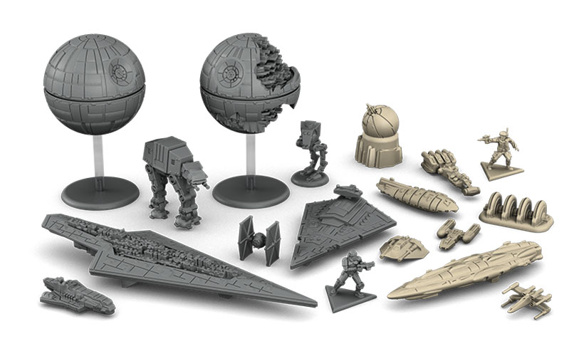 Star Wars Rebellion Review - Miniatures