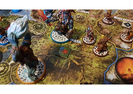 Blood Rage In-Play