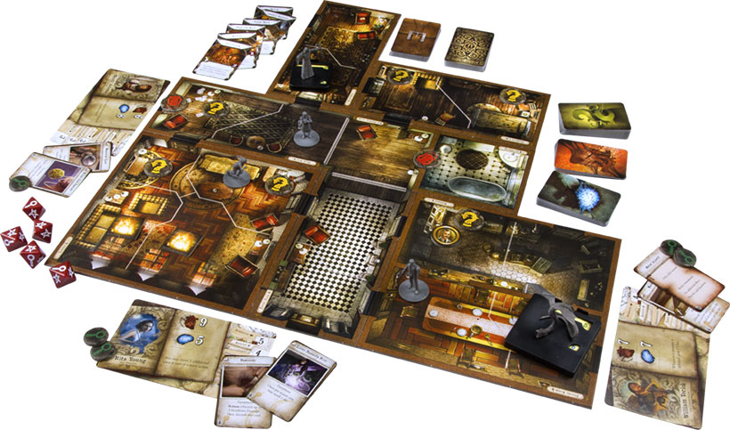 Mansions of Madness: Second Edition - Game Components