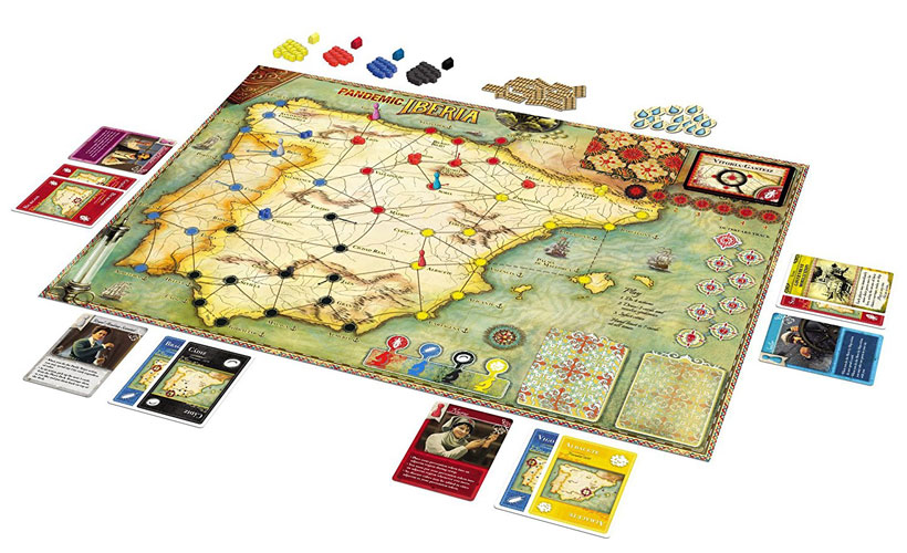 Pandemic Iberia Review - Game Components