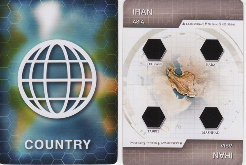 Plague Inc - Country Card
