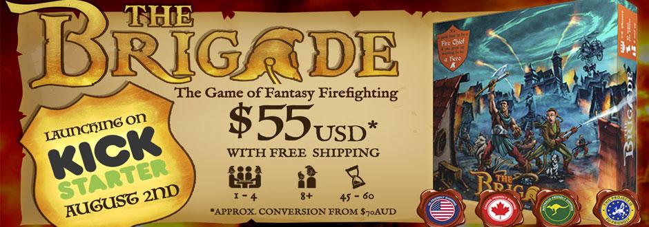 The Brigade - Red Genie Games Interview