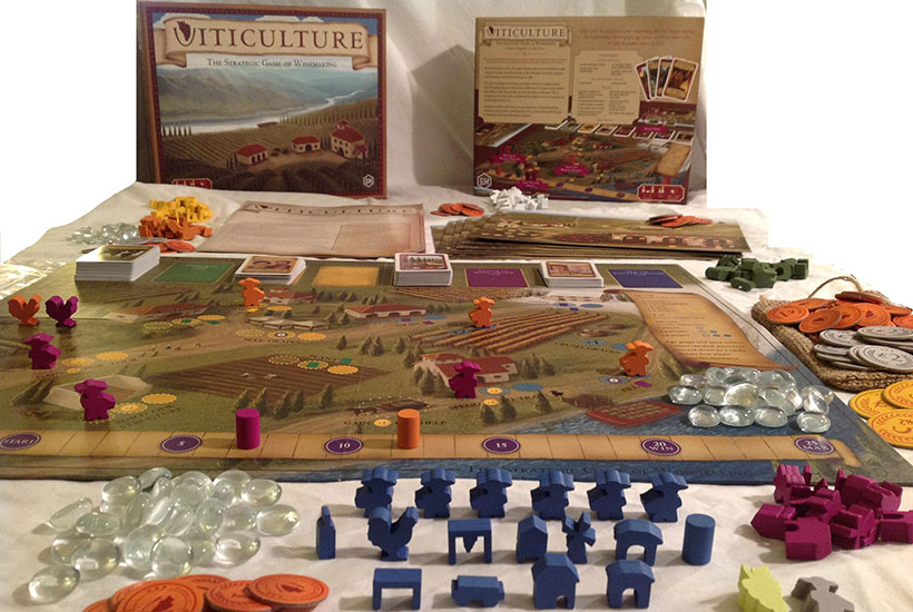 Viticulture Essential Edition Review - Box Contents