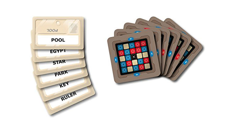 Codenames Review - Word and Grid Cards