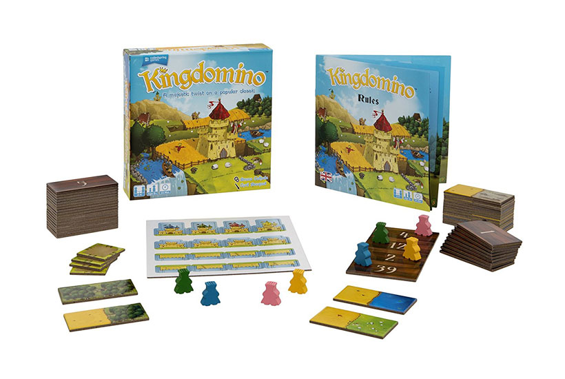 Kingdomino Board Game Review - Game Content