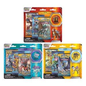 Legendary Beasts Collector's Pin 3-Pack Blister: Pokemon TCG - One Supplied