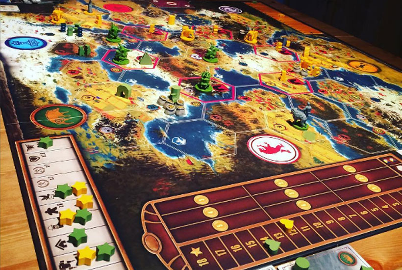 Scythe Board Game Review - Game Components