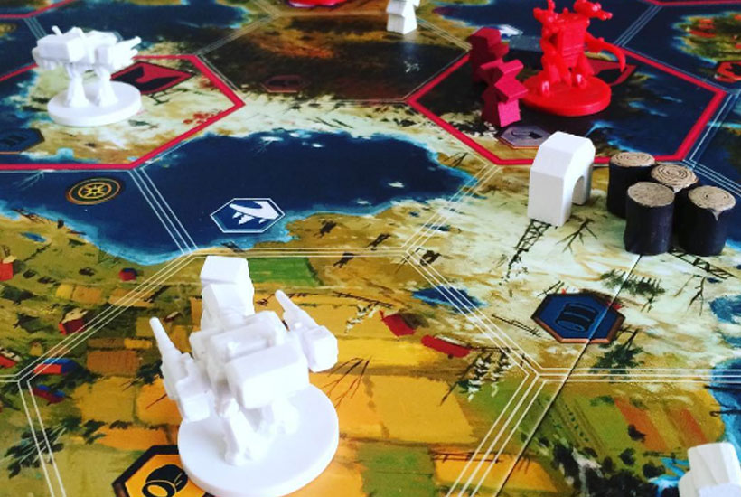 Scythe Board Game Review - Miniatures on Board