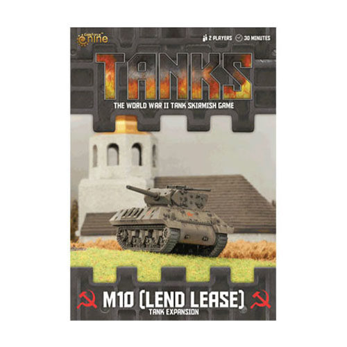 Soviet Lend Lease M10 TANKS Exp