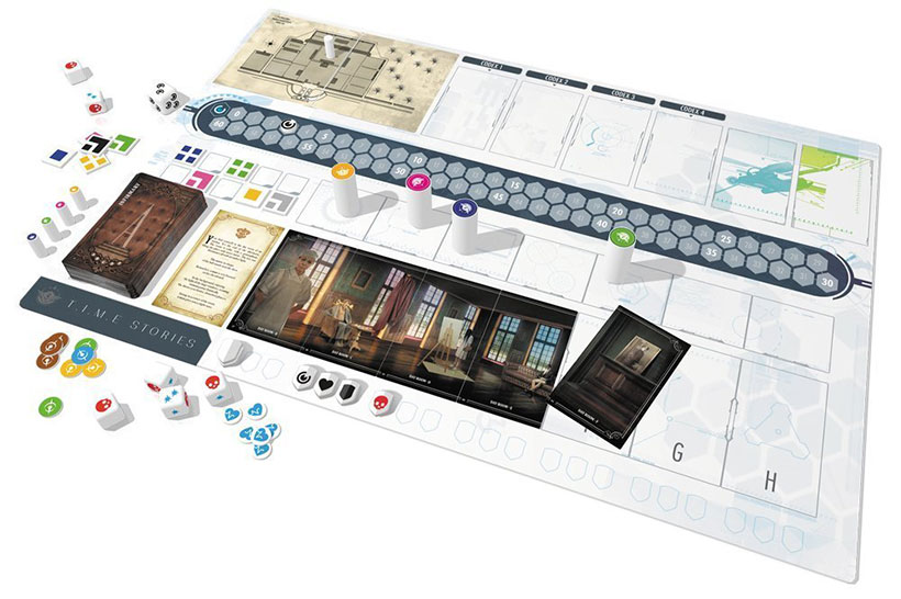 Time Stories Review - Game Components