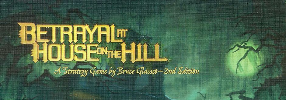 Betrayal at House on the Hill Board Game Review