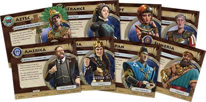 Civilization: A New Dawn - Leaders