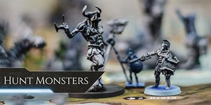 Lords of Hellas - Hunt Monsters