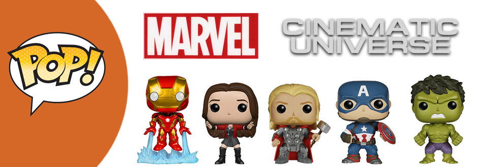 Marvel Funko Pops available at Zatu Games