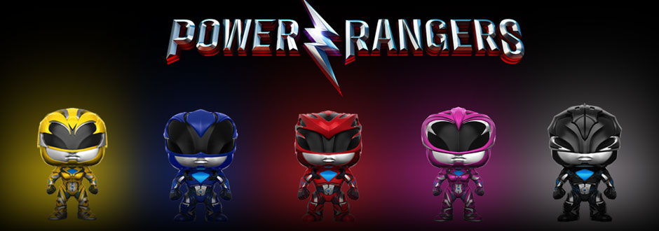 VIDEO: Power Rangers Funko Pop Collection