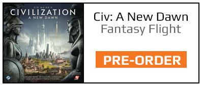 Pre-Order Civilization: A New Dawn Board Game