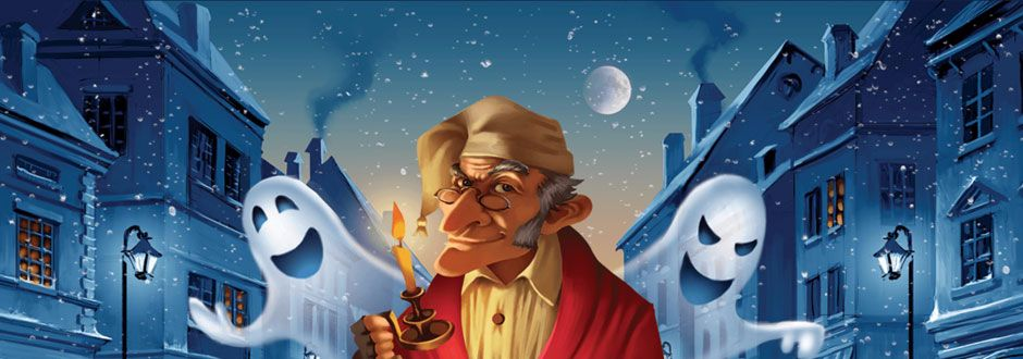 Scrooge: The Board Game Kickstarter Preview