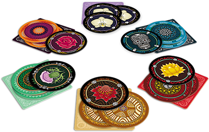 Skull and Flower Cards