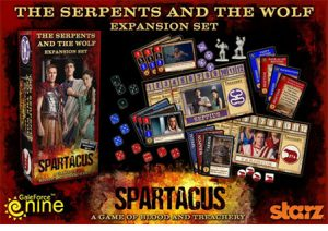 Spartacus Serpents and the Wolf