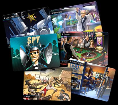 Spyfall - Location Cards