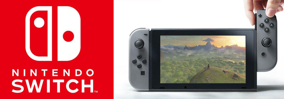 Nintendo Switch console unveiled