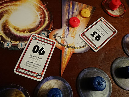 Cosmic Encounter - Attack Cards