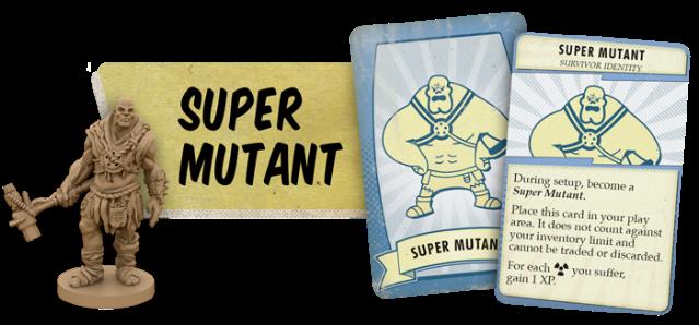 fallout board game super mutant