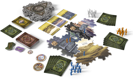 Inis Board Game Layout