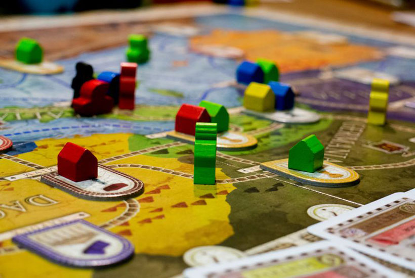 Playing Concordia Board Game