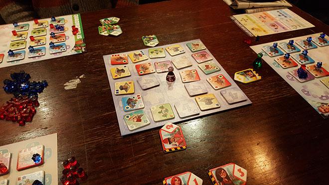 Playing Quadropolis