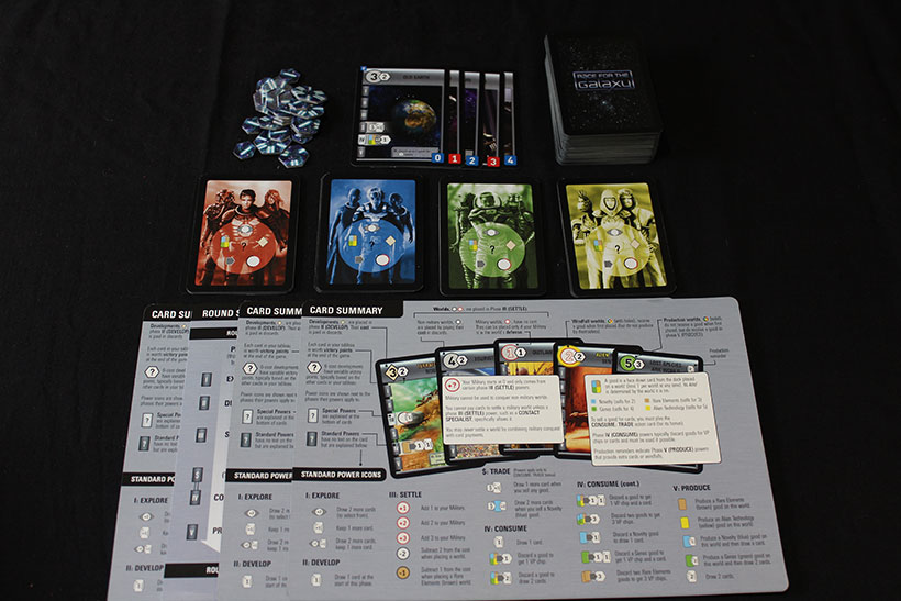 Race for the Galaxy Review - Game Components