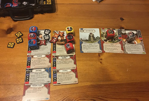 Star Wars Destiny - Components