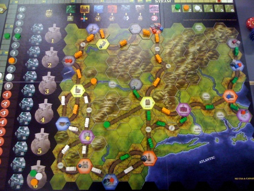 Steam: Rails to Riches - Standard Game