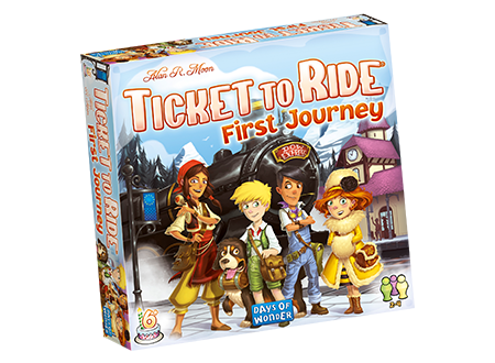 Ticket To Ride Games - First Journey