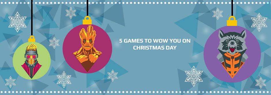Big Christmas Presence: 5 Games to Wow you on Christmas Day