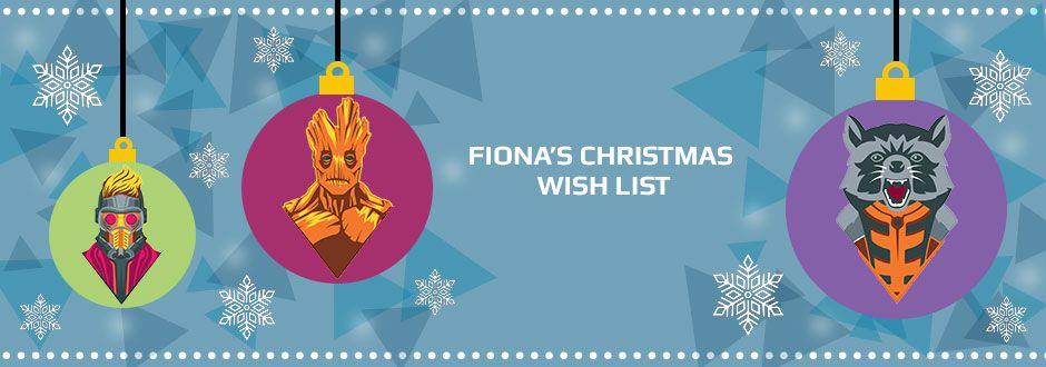 Fiona's Christmas Wish List